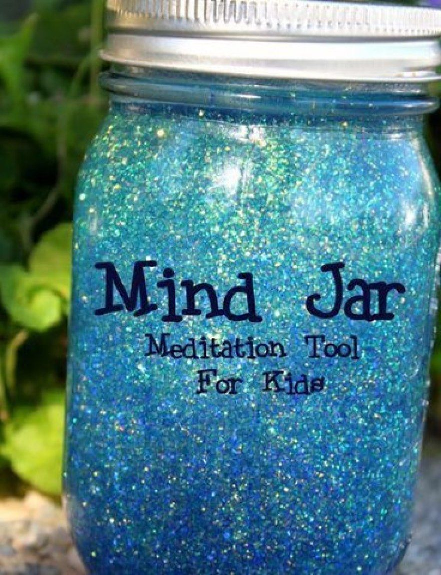 Glitter Jar Recipe for Mindfullness & Meditation