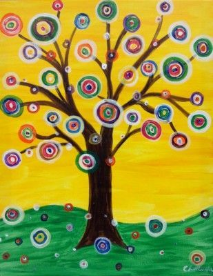 Kandinsky Art Tree